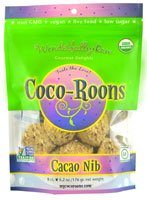 Wonderfully Raw Coco-Roons Organic Gluten Free Cacao Nib -- 6.2 oz