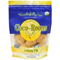Wonderfully Raw Gourmet Delights, Organic Coco-Roons, Lemon Pie, 8 Count, 6.2 oz, Pack of 3