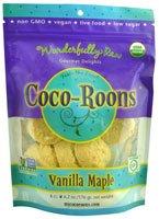 Wonderfully Raw Coco-Roons Organic Gluten Free Vanilla Maple -- 6.2 oz