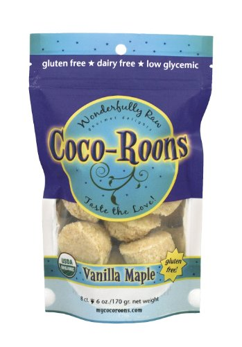 Coco-Roons Cookie, Vanilla Maple, 6-Ounce
