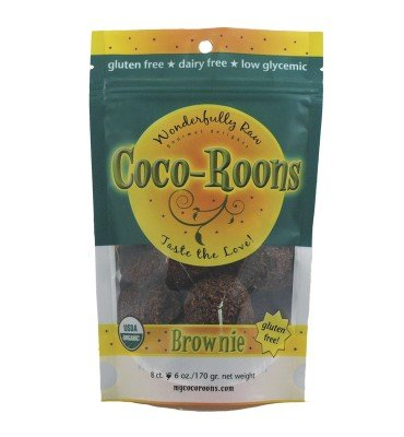 Cocoroons Organic Brownie, 6 Ounce -- 6 per case.
