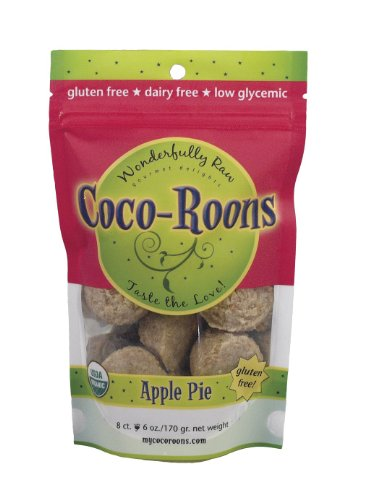 Coco-Roons Cookie, Apple Pie, 6-Ounce